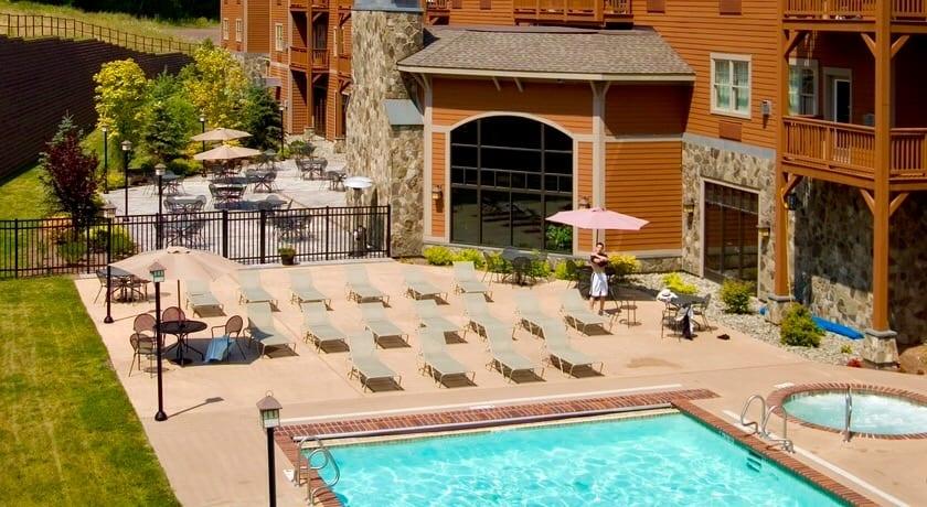 Kaatskill Mountain Club Pool, Hunter, NY