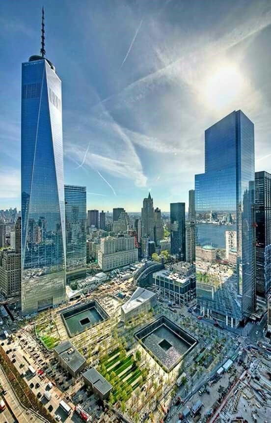 World Trade Center September 11th Memorial, New York