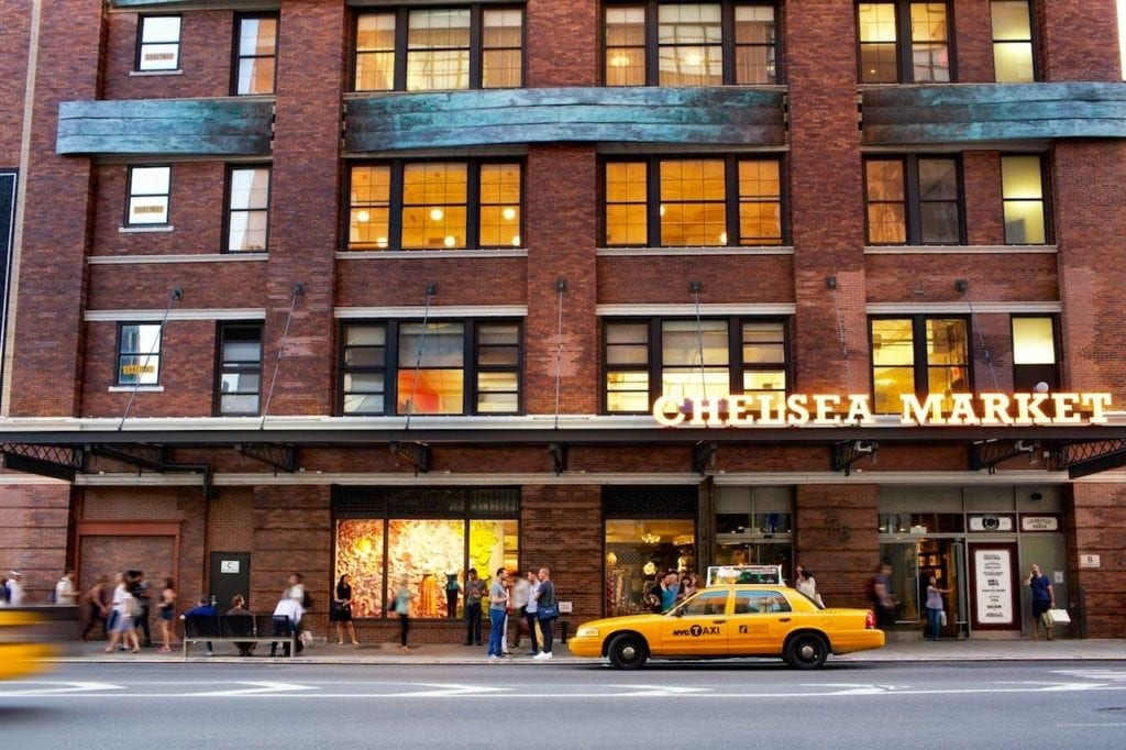 Chelsea Market Outside View, NYC