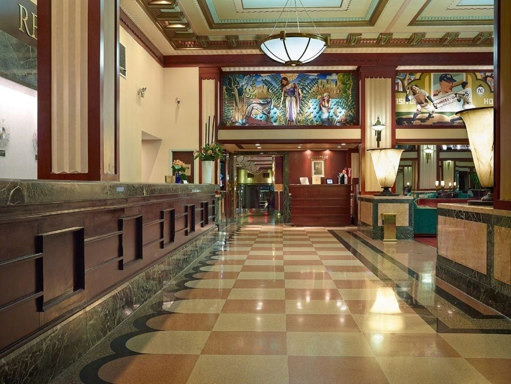 Hotel Edison Lobby