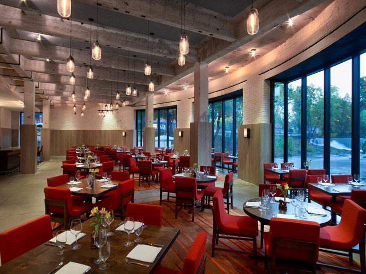 Restaurant at Roundhouse Hotel Beacon, NY pic