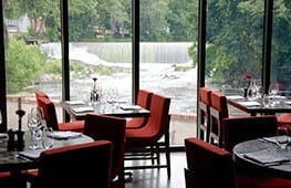 Restaurant at Roundhouse Hotel Beacon, NY pic 2