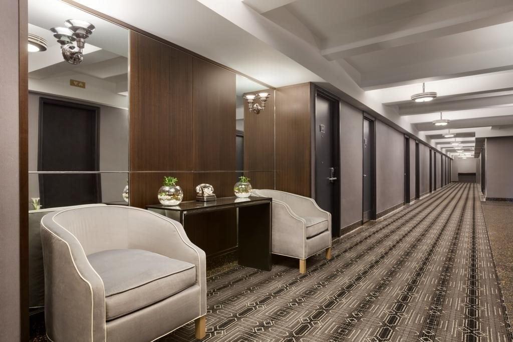 Hotel Edison Hallways